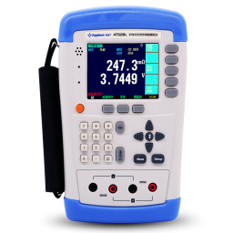 Battery resistance meter AT526 lithium battery tester Internal digital battery resistance meter 0.00001V-120.0000V with instruction manual US 110V plug